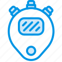 coach, digital, fitness, gym, health, timer icon