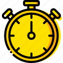 coach, fitness, gym, health, timer icon