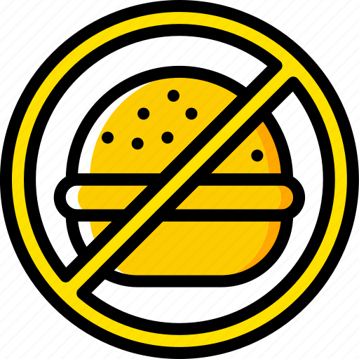 eat, fast, food, hamburger, health icon