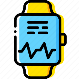 app, fitness, health, watch icon