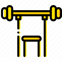 fitness, gym, health, lift, training, weight icon