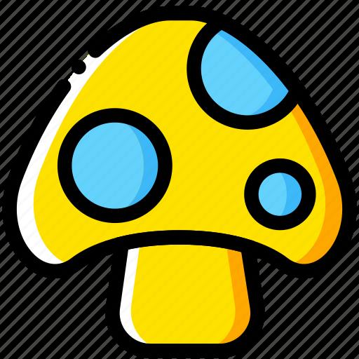 arcade, game, mario, mushroom, yellow icon
