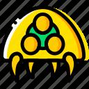 alien, game, metroid, symbiote, yellow