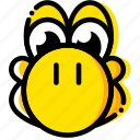 console, game, mario, yellow, yoshi icon