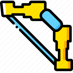 bow, diamond, game, minecraft, yellow icon
