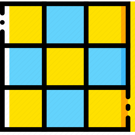 board, chess, game, pieces, yellow icon