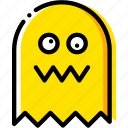 arcade, game, ghost, pacman, yellow icon