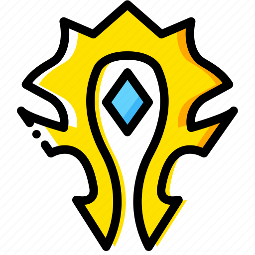 for, game, horde, the, yellow icon