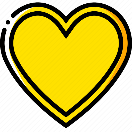 cards, game, hearts, poker, yellow icon
