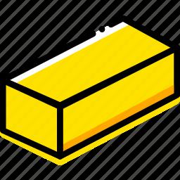 brick, game, gold, minecraft, yellow icon