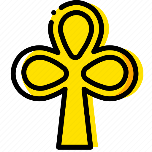 cards, clubs, game, poker, yellow icon