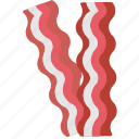 bacon, cooking, food, gastronomy