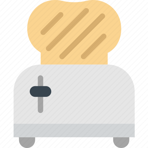 cooking, food, gastronomy, toaster icon