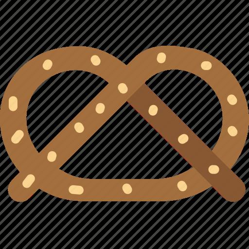 cooking, food, gastronomy, pretzel icon