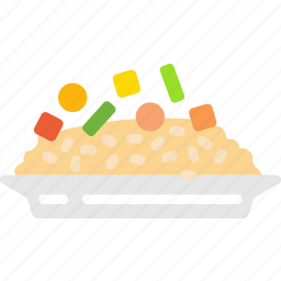 cooking, food, gastronomy, risotto icon