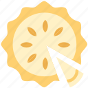 food, gastronomy, cooking, pie icon