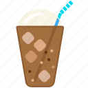 food, frappe, cooking, gastronomy icon