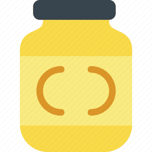 cooking, food, gastronomy, mustard icon
