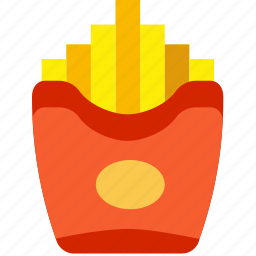 cooking, food, french, fries, gastronomy icon