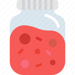 cooking, food, gastronomy, jelly icon