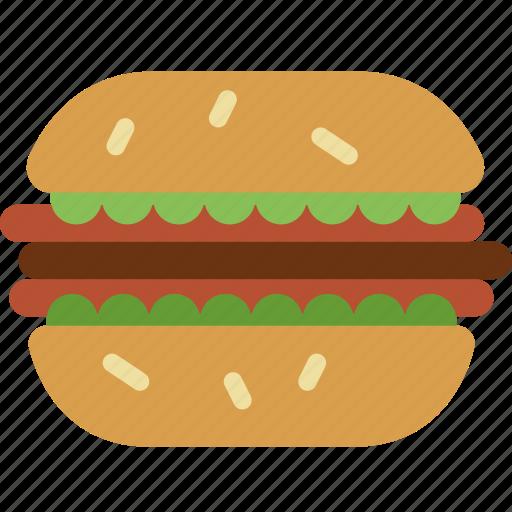 cooking, food, gastronomy, hamburger icon