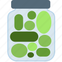cooking, food, gastronomy, pickles icon