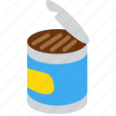 can, cooking, food, gastronomy icon