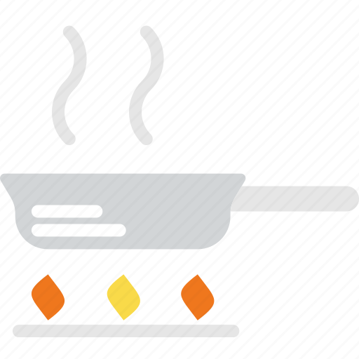 cooking, food, frying, gastronomy, pan icon