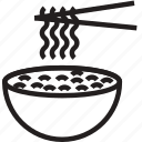cooking, food, gastronomy, noodles icon