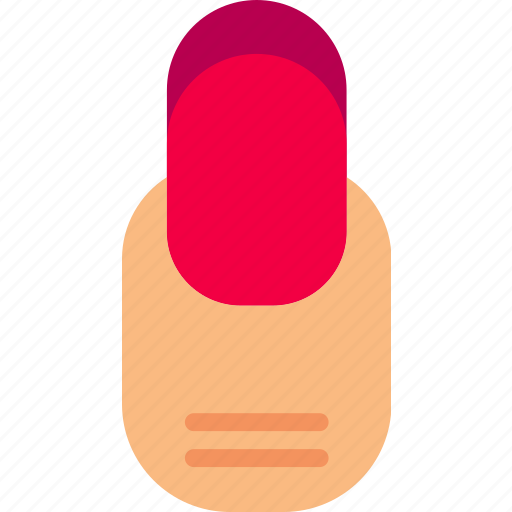 beauty, grooming, hair, hygiene, nail, round, saloon icon