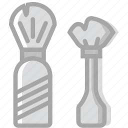 beauty, brush, grooming, hair, hygiene, saloon, shaving icon