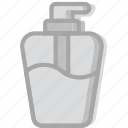 beauty, grooming, hair, hand, hygiene, saloon, soap icon
