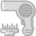 beauty, dryer, grooming, hair, hygiene, saloon icon