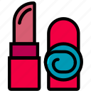 beauty, grooming, hair, hygiene, lipstick, saloon icon