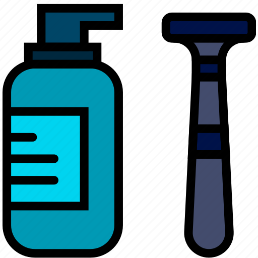 beauty, grooming, hair, hygiene, razor, saloon, shaving icon