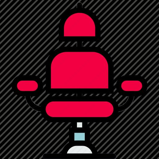 barber, beauty, chair, grooming, hair, hygiene, saloon icon
