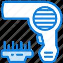 beauty, hair, hygiene, dryer, grooming, saloon icon