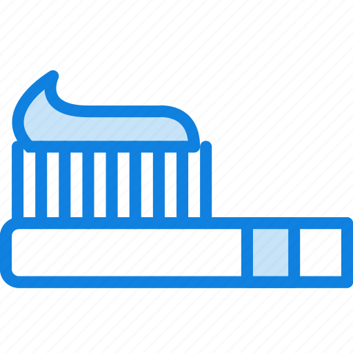 beauty, grooming, hair, hygiene, saloon, style, toothbrush icon