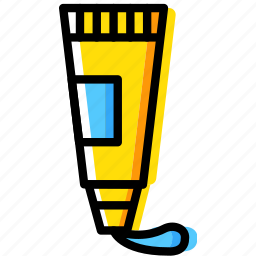 beauty, grooming, hair, hygiene, saloon, style, toothpaste icon