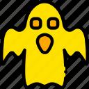 ghost, holiday, scary, season, yellow