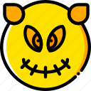 halloween, holiday, season, sprite, yellow