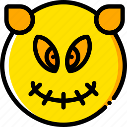 halloween, holiday, season, sprite, yellow icon
