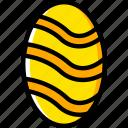 easter, egg, holiday, season, yellow