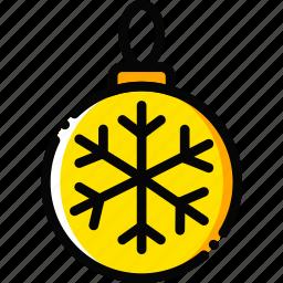 globe, holiday, season, winter, yellow icon