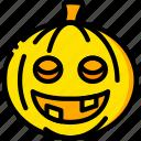 halloween, holiday, pumpkin, season, yellow