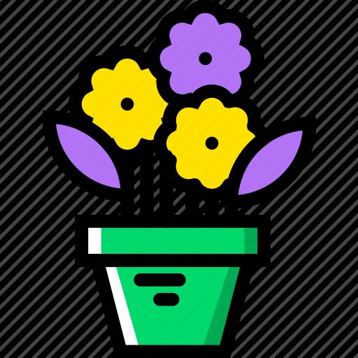 belongings, flower, furniture, households, pot icon