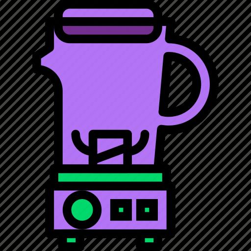 belongings, blender, furniture, households icon