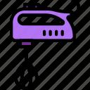 belongings, furniture, households, mixer icon