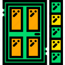 backdoor, belongings, furniture, households