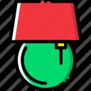 belongings, furniture, households, lamp